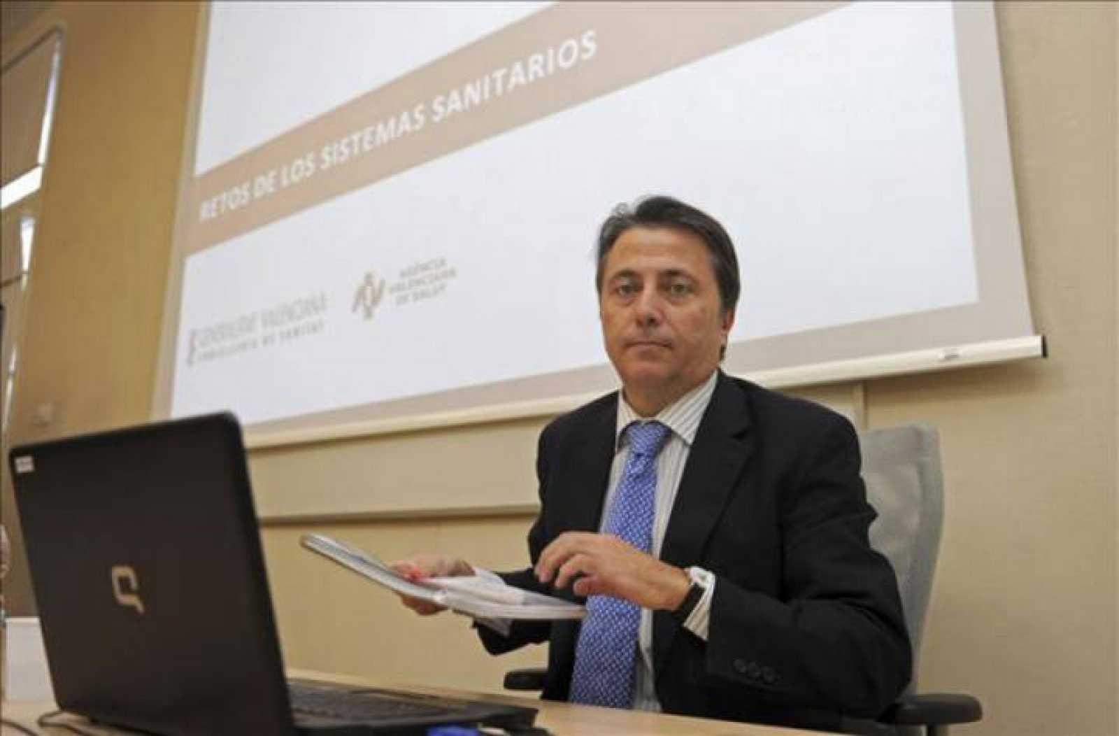 El exdiputado nacional del PP y exconsejero valenciano de Sanidad del PP Manuel Cervera