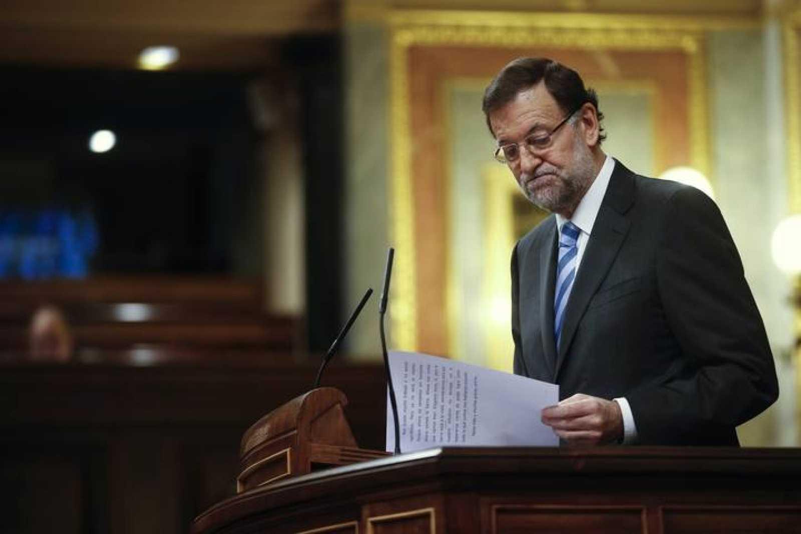 Rajoy comparece en el Congreso para informar sobre los resultados del Consejo Europeo de octubre