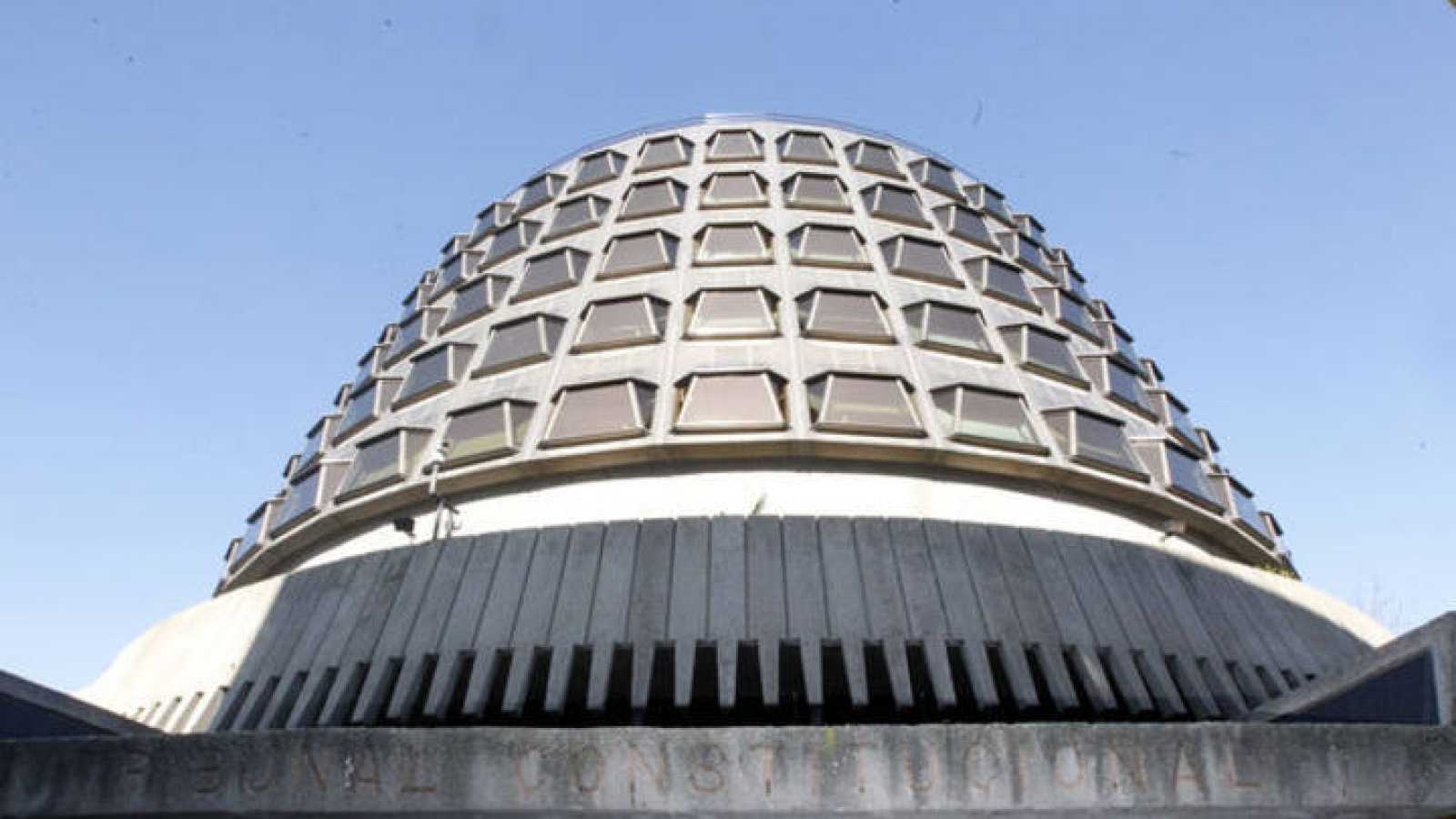 Imagen del edificio del Tribunal Constitucional, en Madrid.