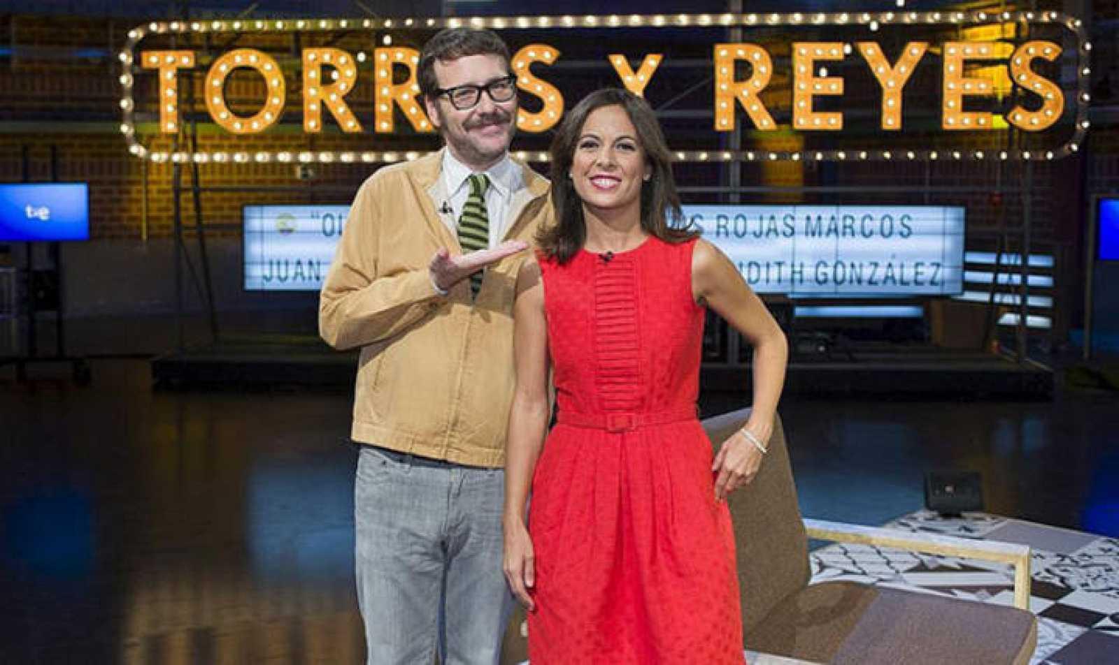 Joaquín Reyes y Mara Torres, presentadores de 'Torres y Reyes' estarán en interQué 2013.