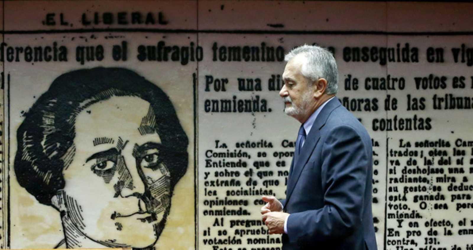 El senador del PSOE José Antonio Griñán, vicepresidente segundo de la Comisión de Empleo y Seguridad Social del Senado