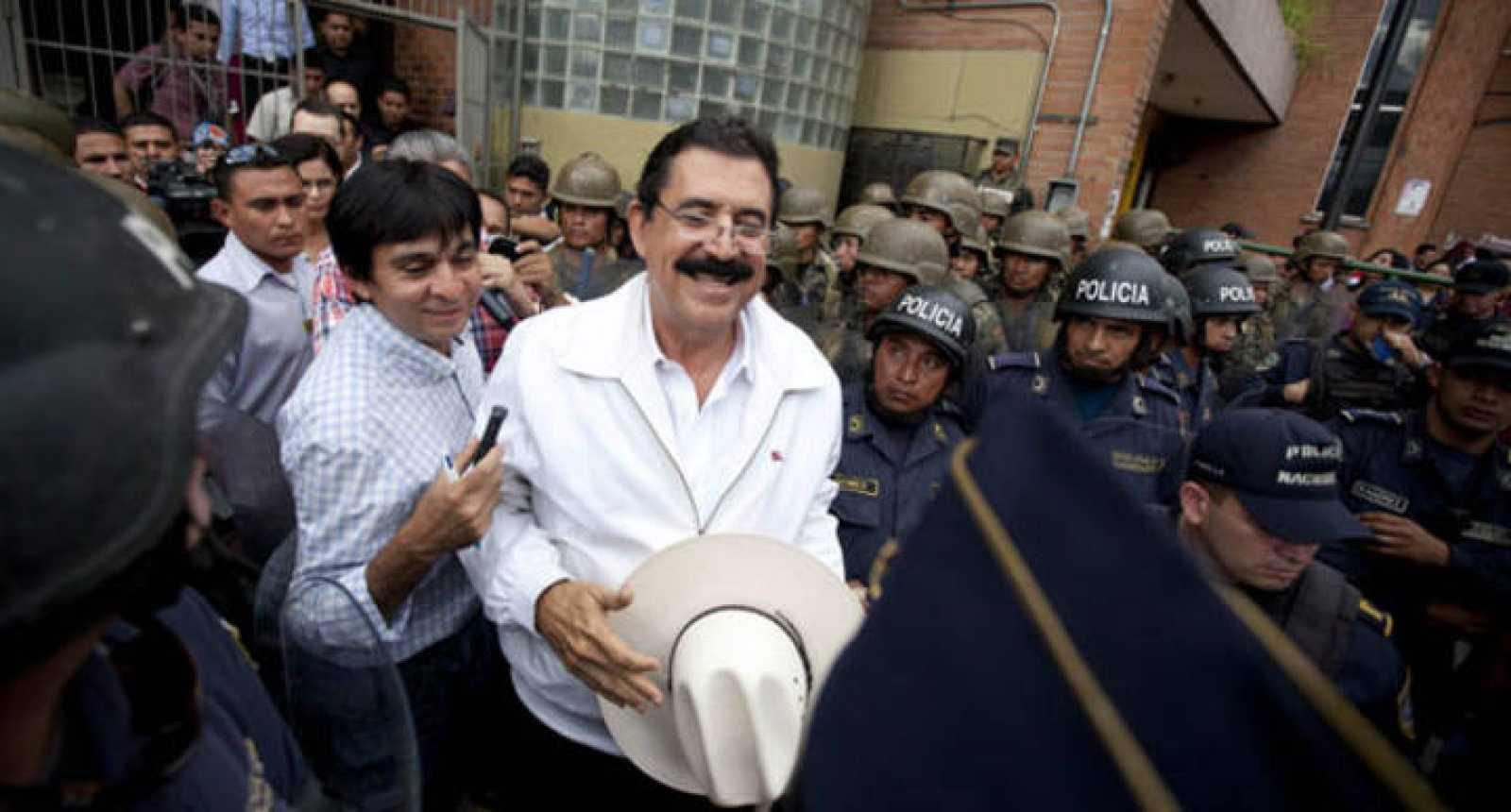 Hernández promete un gobierno austero, pequeño y efectivo para Honduras