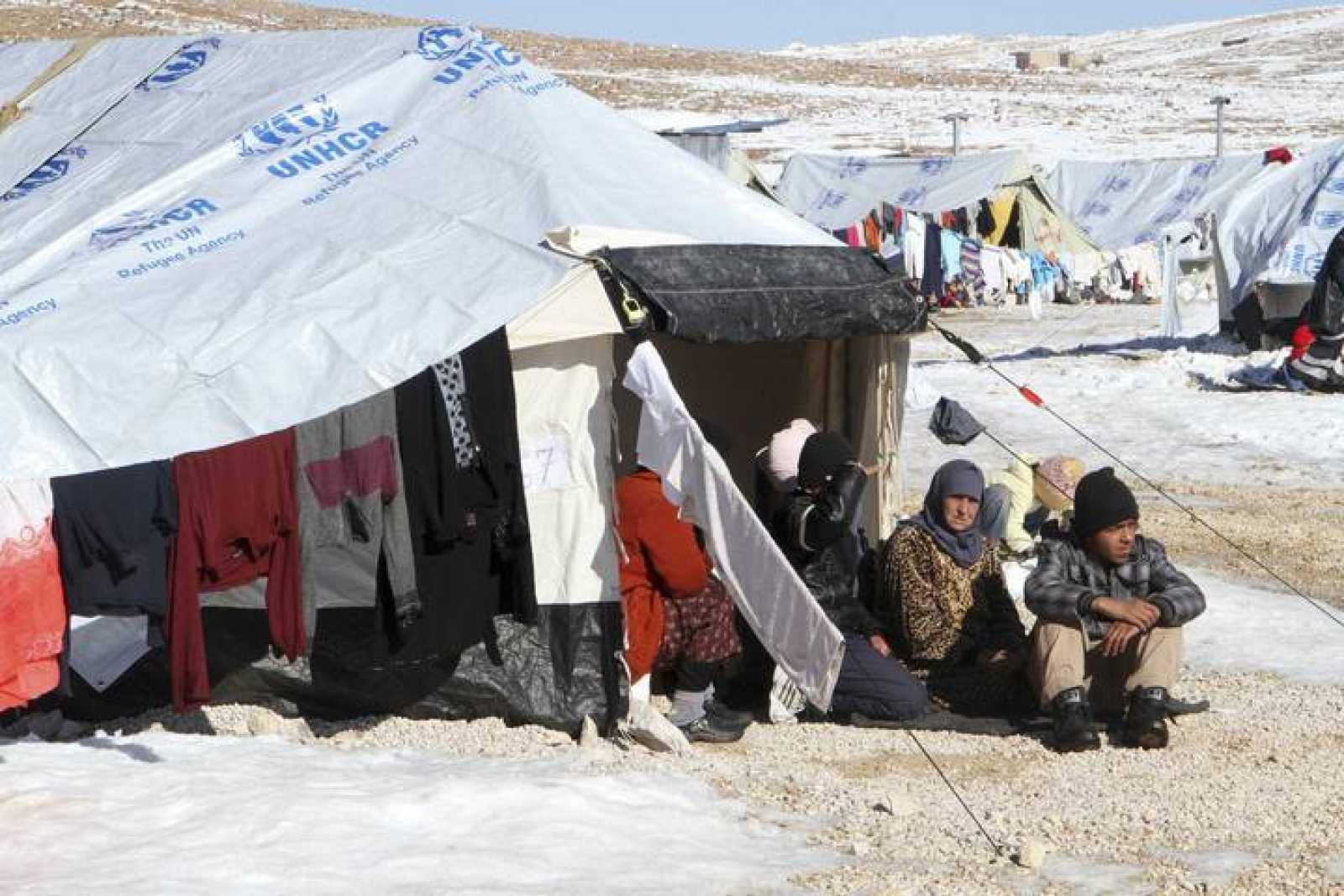 Los refugiados sirios se enfrentan a uno de los inviernos más crudos de los últimos años.