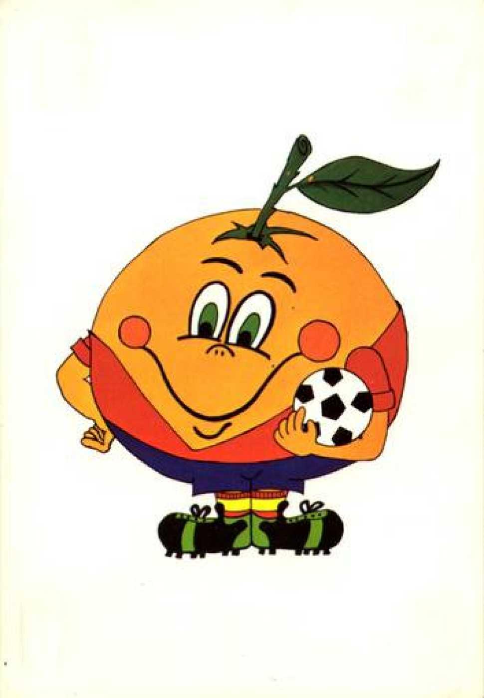 Naranjito, la mascota de España '82