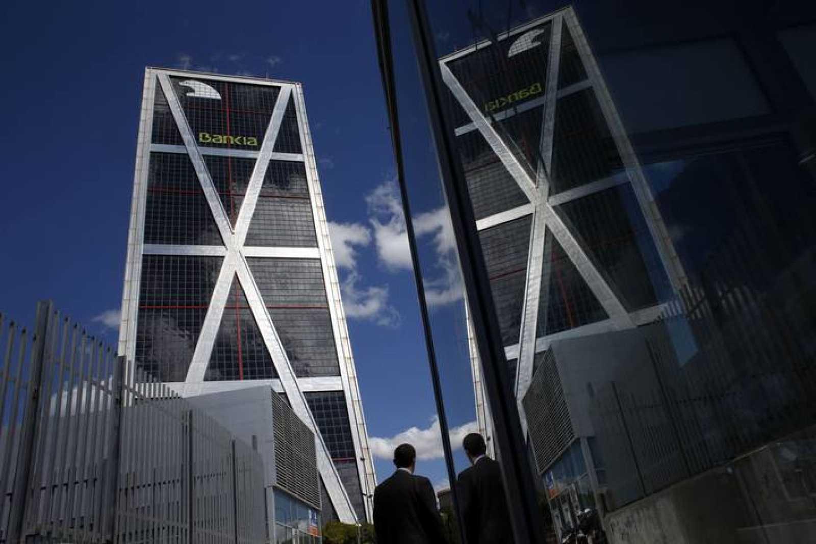 La sede de Bankia en Madrid
