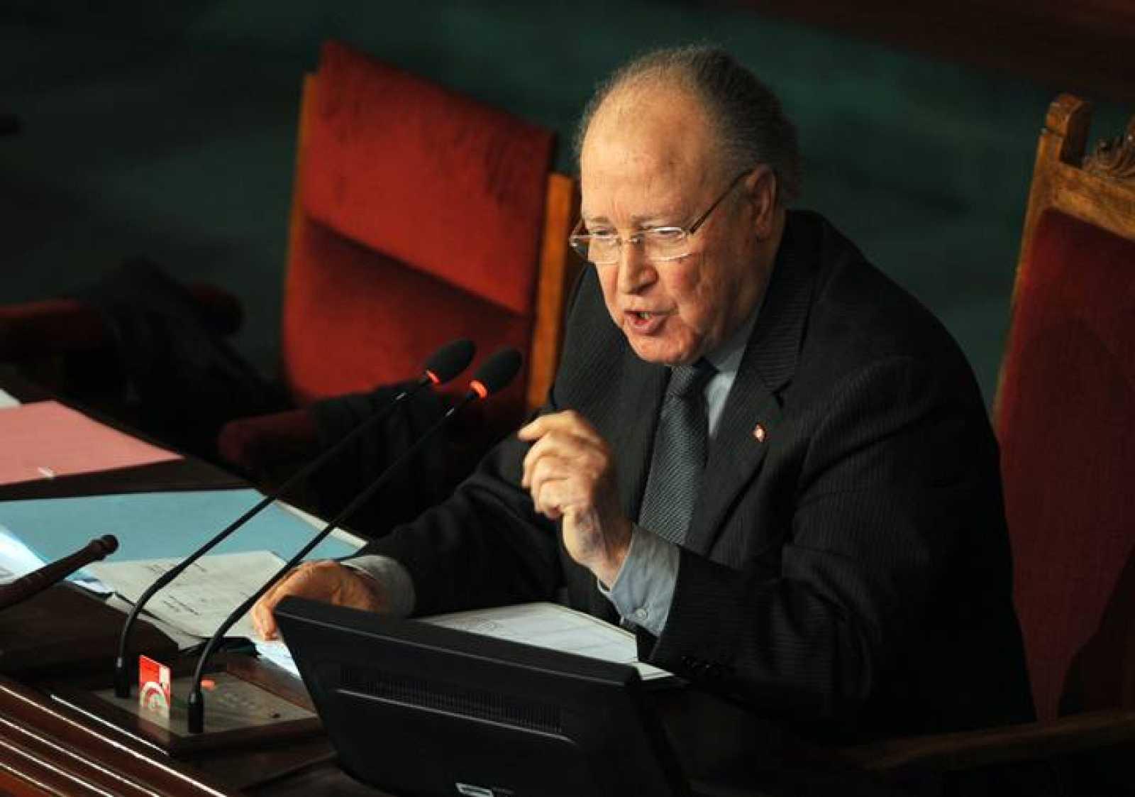El presidente de la Asamblea Nacional Constituyente de Túnez, Ben Jaafar