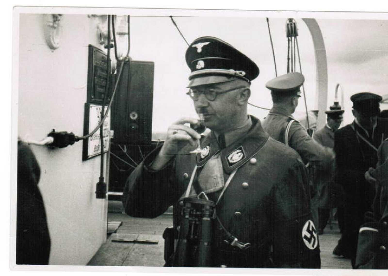 Una de las fotografías inéditas de Himmler que han salido a la luz, publicada por Die Welt