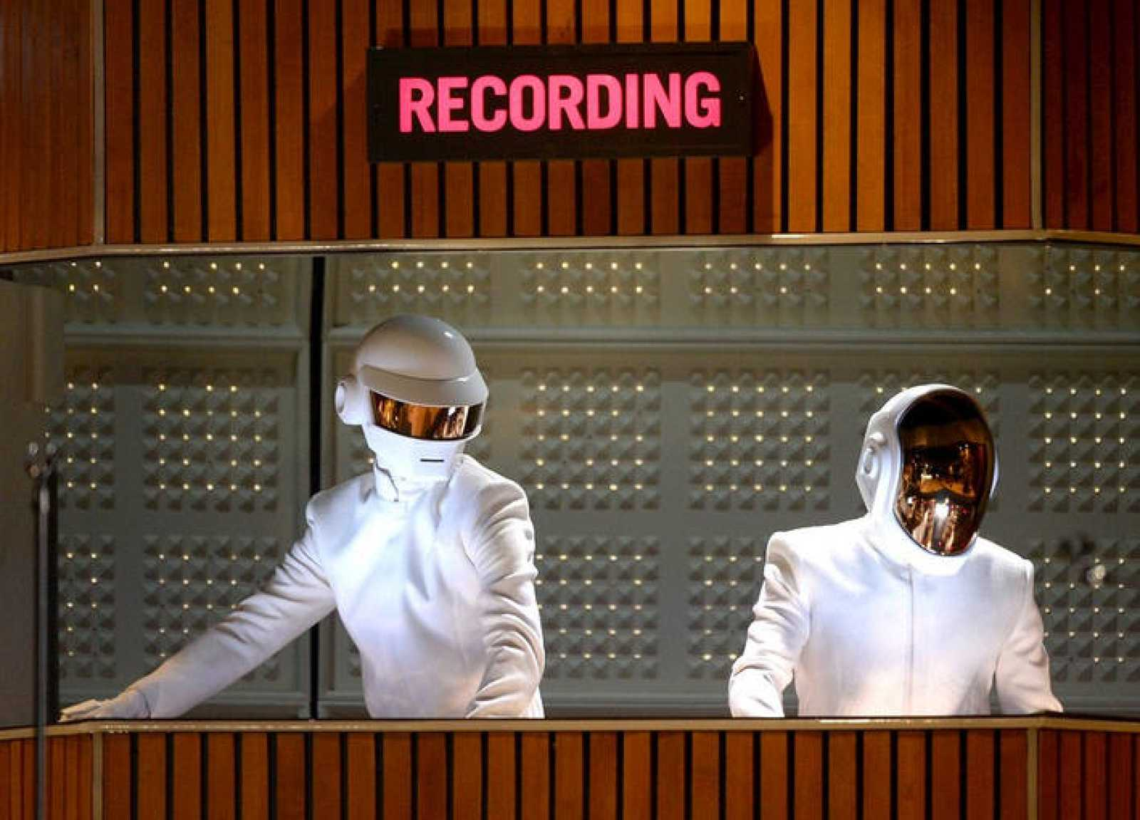 Daft Punk en los Grammys 2014