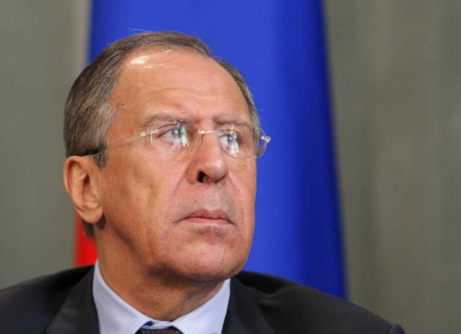 El ministro de Exteriores de Rusia, Serguei Lavrov