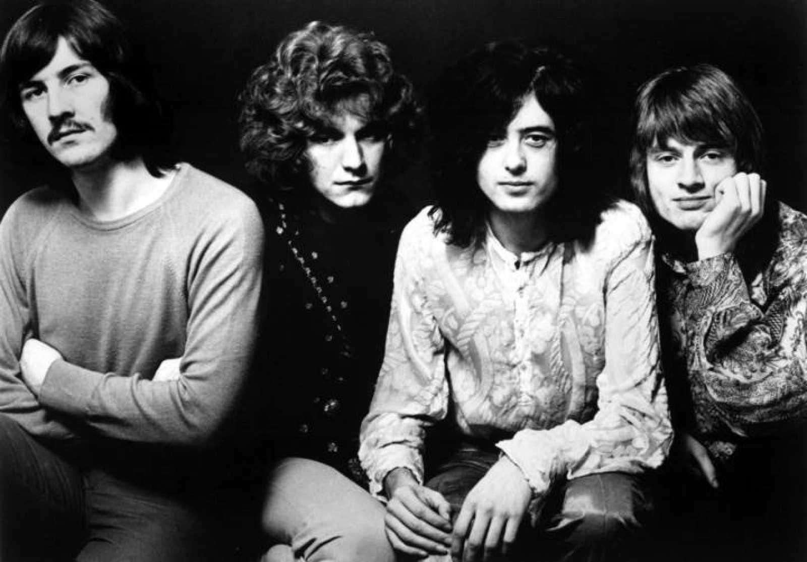 Imagen de Led Zeppelin en sus inicios, en 1968.