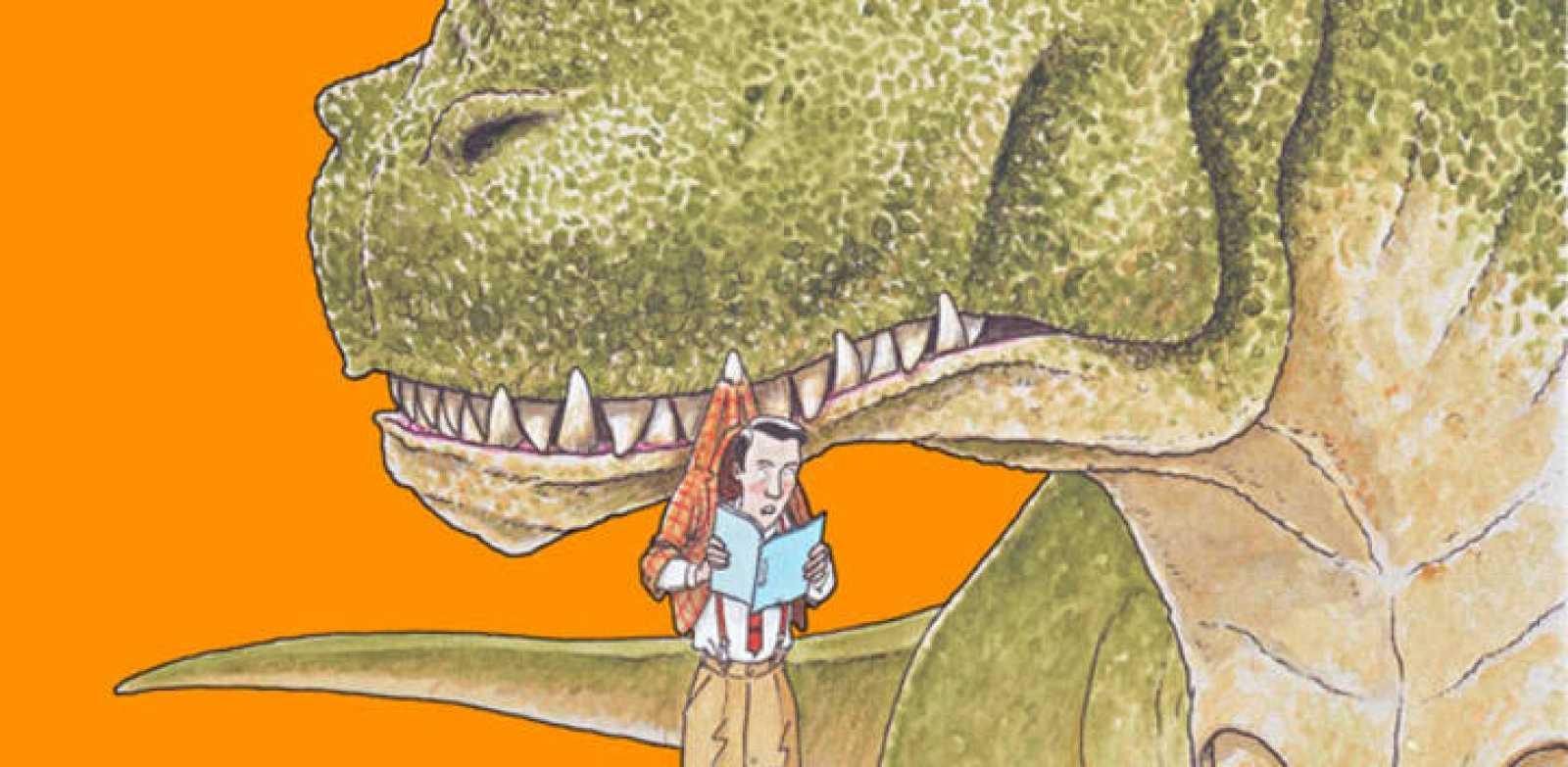 Fragmento de la portada de 'Las apasionantes lecturas del Sr. Smith'