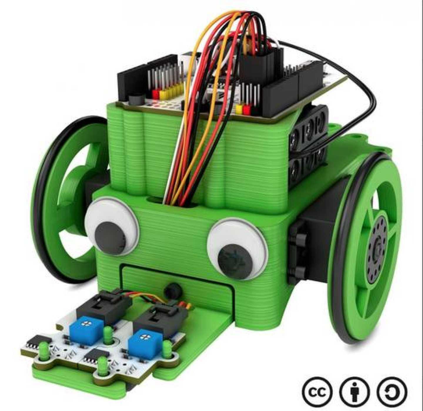 El robot de BQ ya montado.