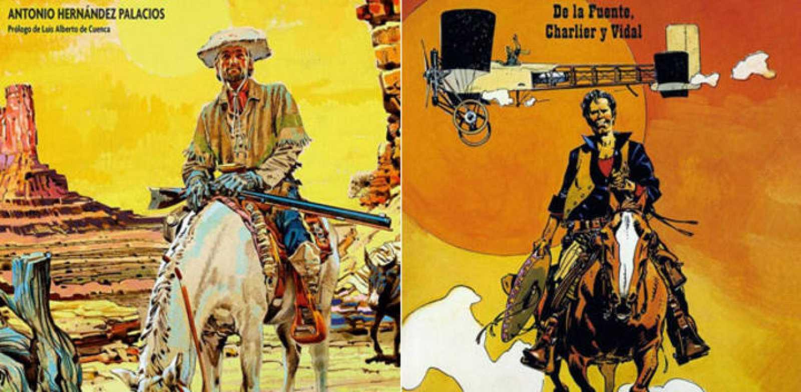 Fragmentos de las portadas de'Manos Kelly' y 'Los Gringos'