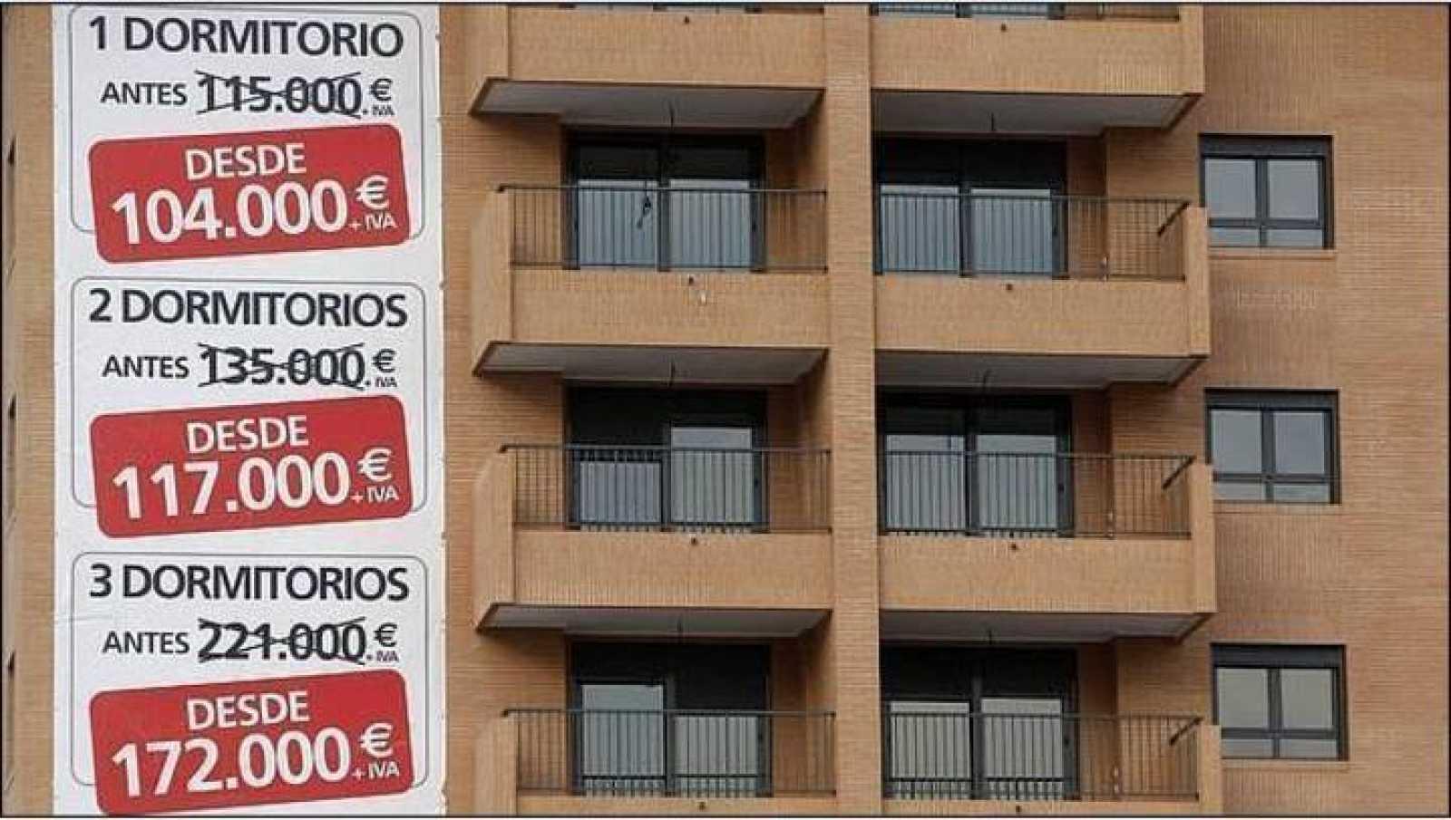 Carteles de venta de viviendas