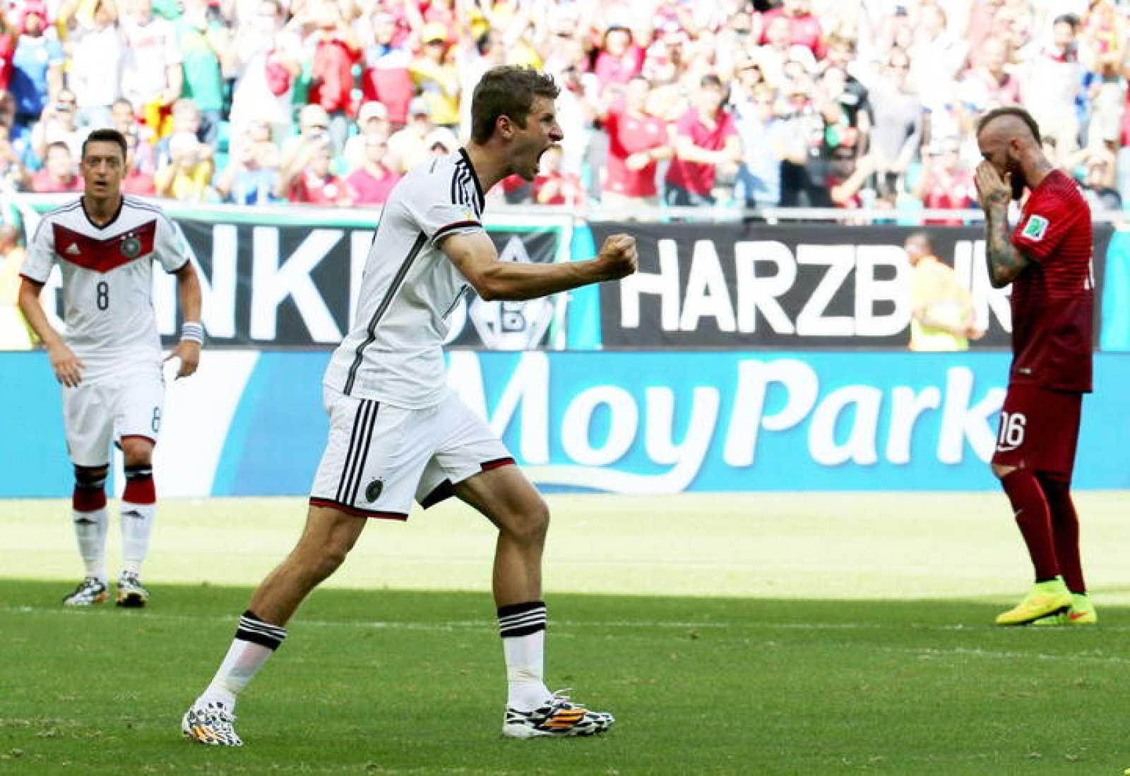 Final Mundial 2014: Müller muestra el poderío de Alemania ante Portugal
