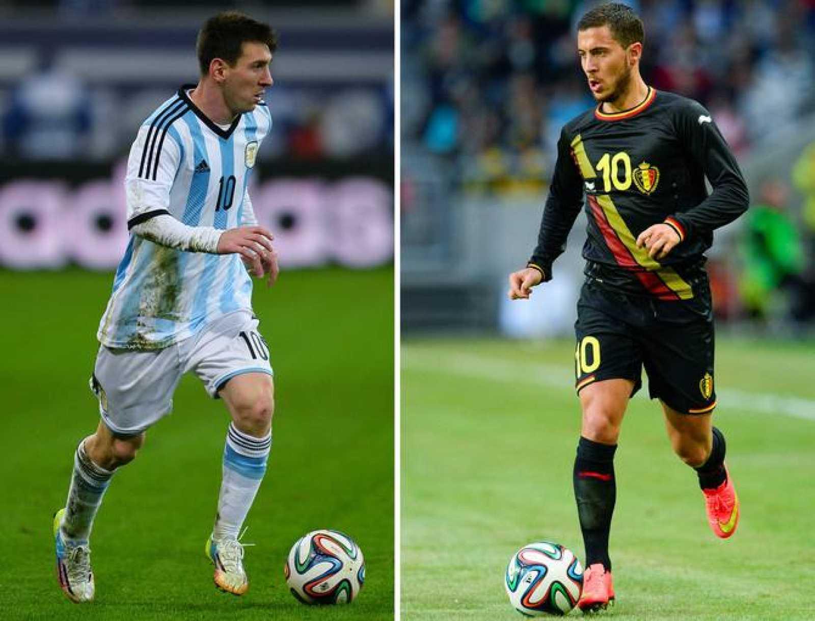 Mundial 2014 | Argentina - Bélgica | Argentina y Bélgica buscan las ...