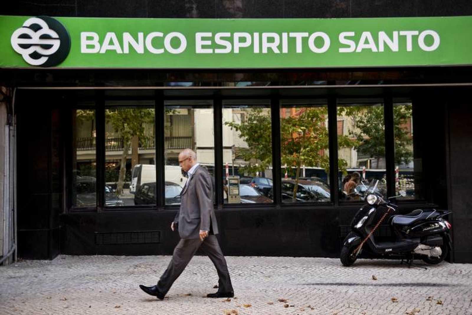 La sede de Banco Espirito Santo en Lisboa