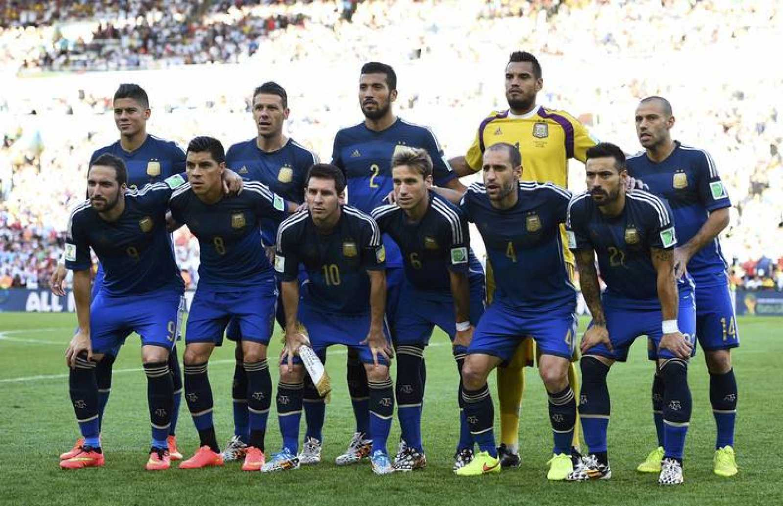 Image result for seleccion argentina mundial 2014