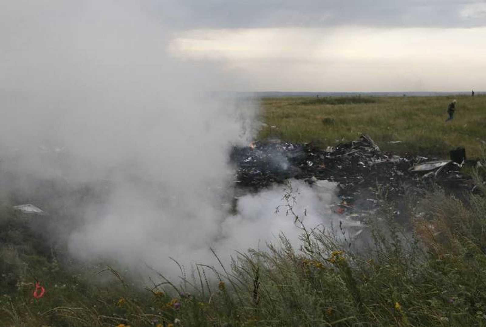 Imagen de archivo del lugar donde cayó el avión