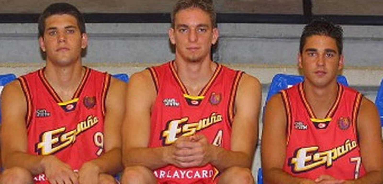 Felipe Reyes, Pau Gasol y Juan Carlos Navarro, 15 años de éxitos internacionales.