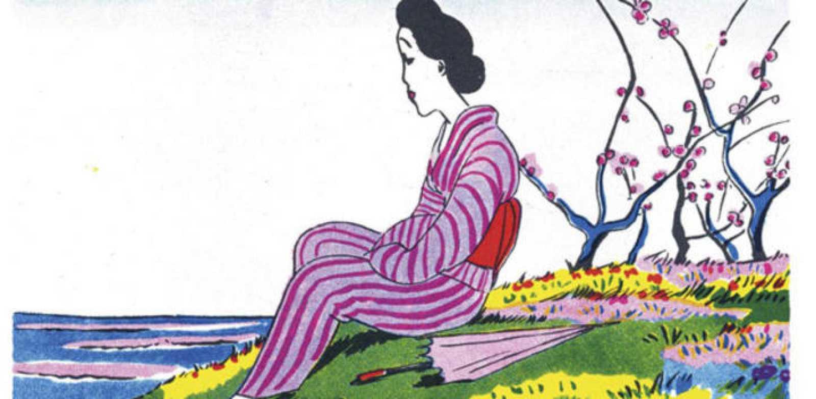 Fragmento de una ilustración de Seiichi Hayashi