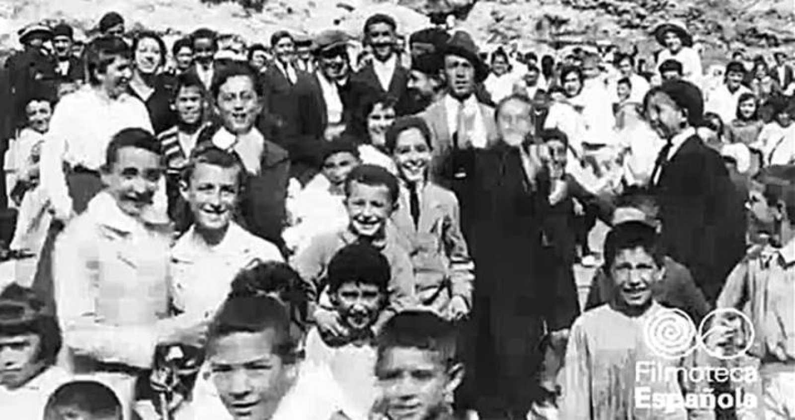 Vecinos de Llanes, Asturias, 1917