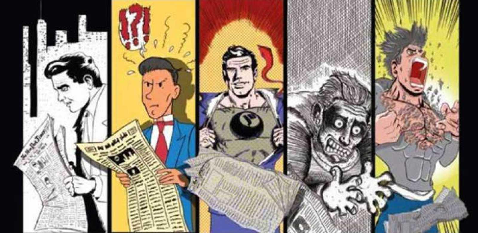 Fragmento de la portada de 'Jot Down 100: cómics'