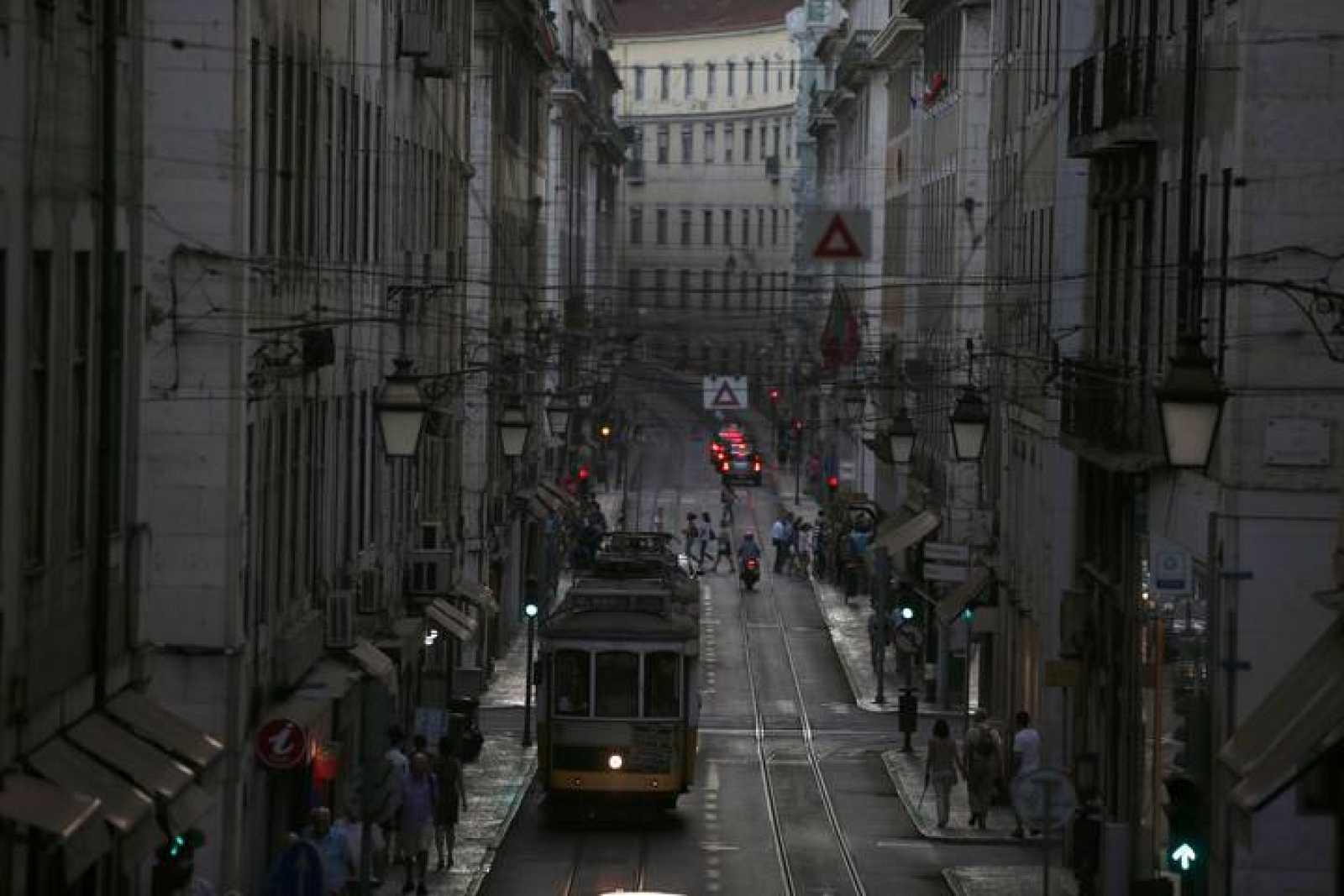 El centro de Lisboa