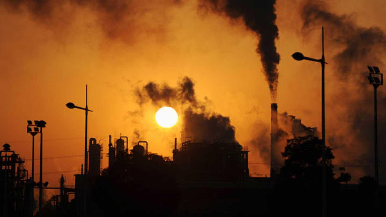 2017 registró una cifra récord de emisión de gases de efecto invernadero