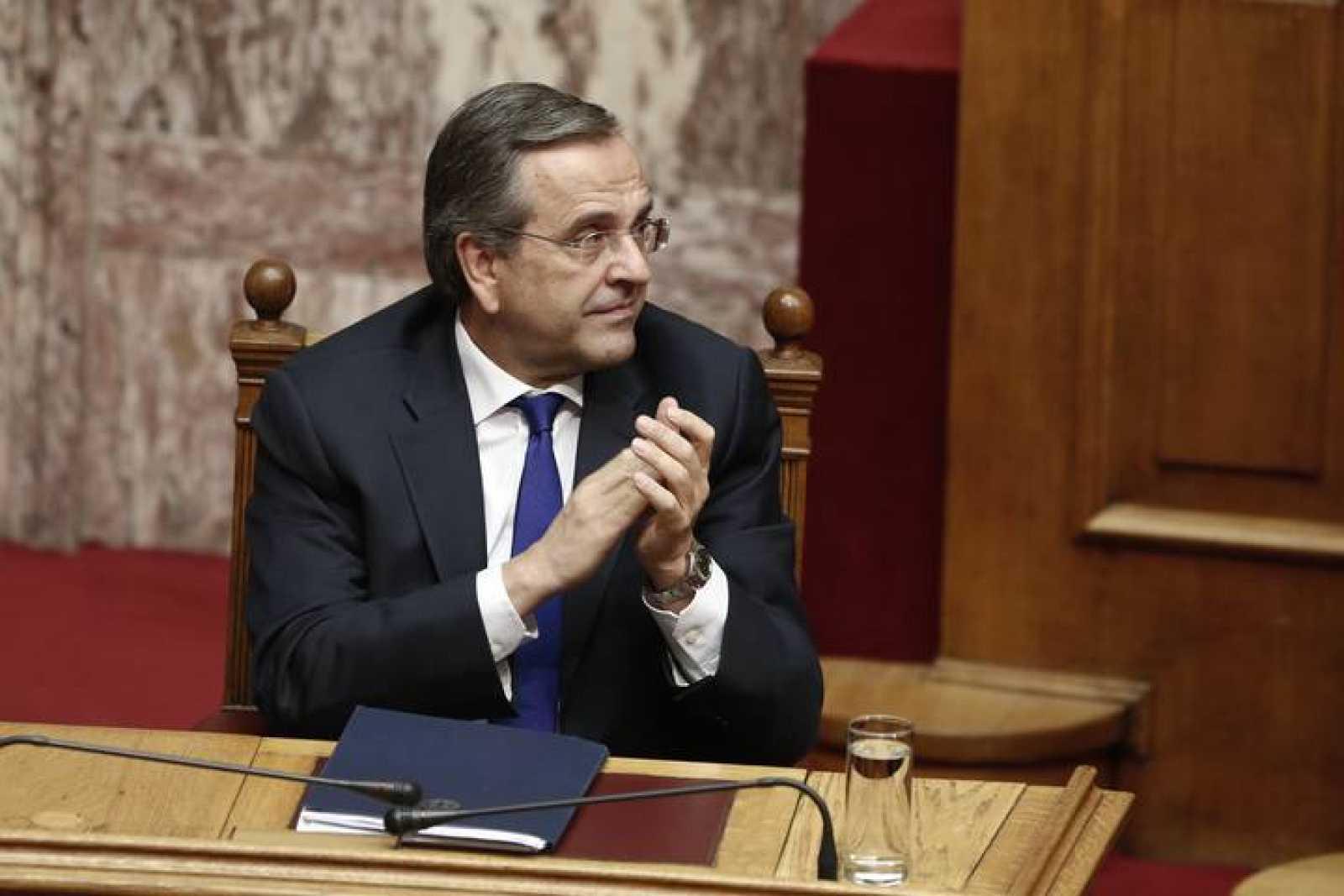 El primer ministro griego, Andonis Samarás