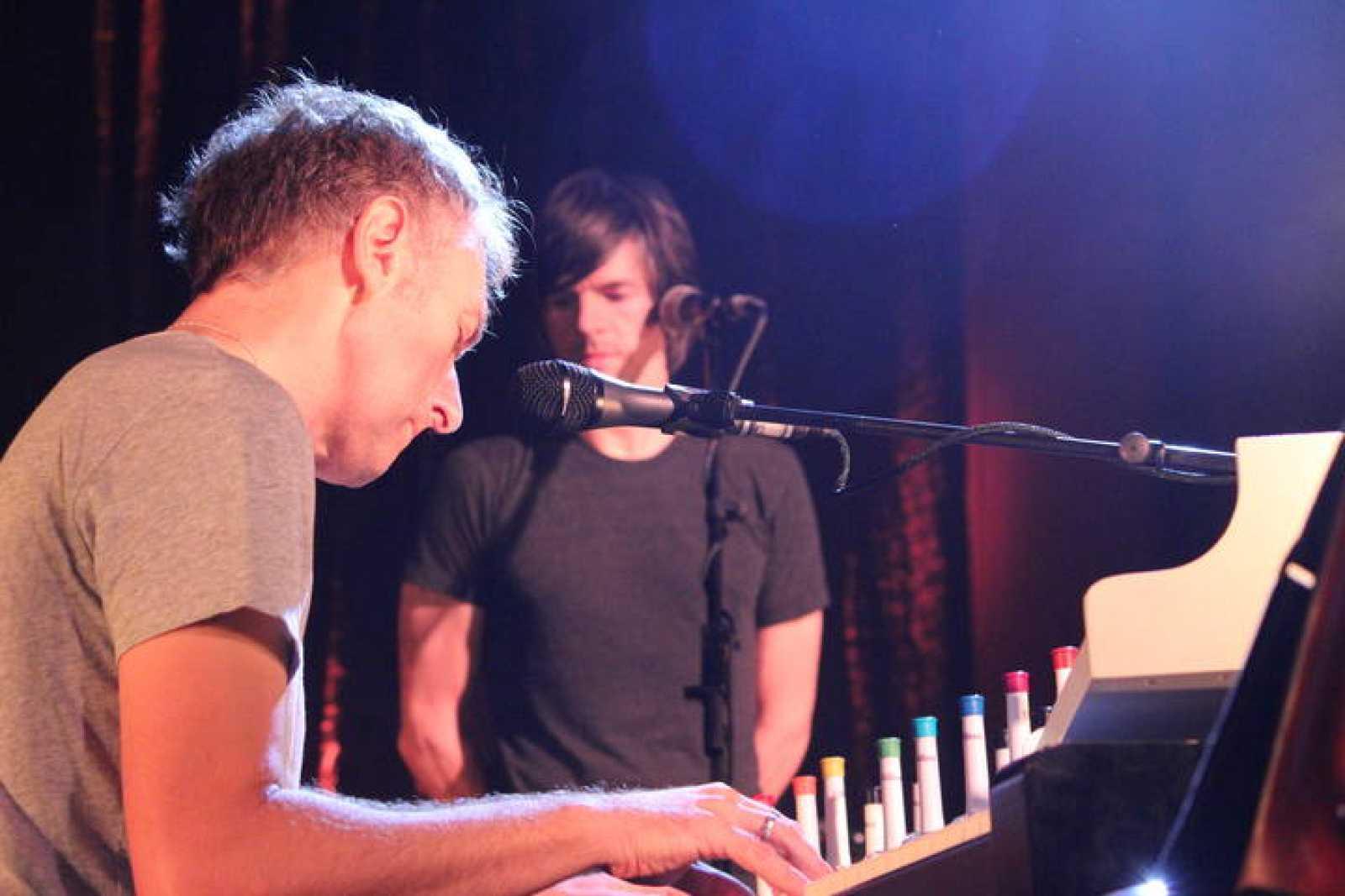 El músico y compositor Yann Tiersen en concierto en la sala La Riviera de Madrid.