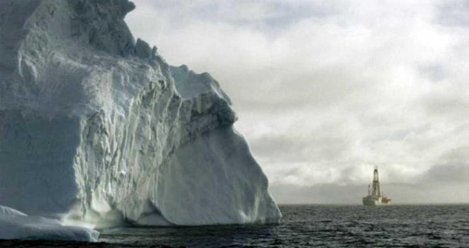 Trabajos de perforaciones científicas en la Antártida.