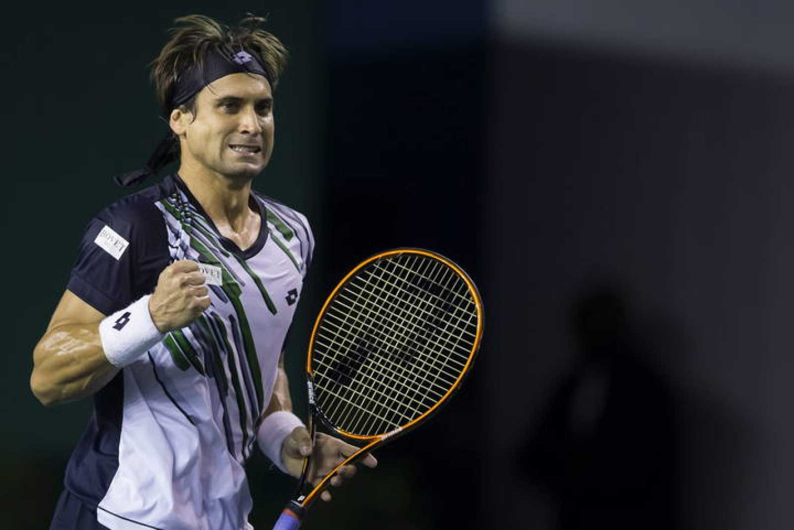 El tenista español David Ferrer