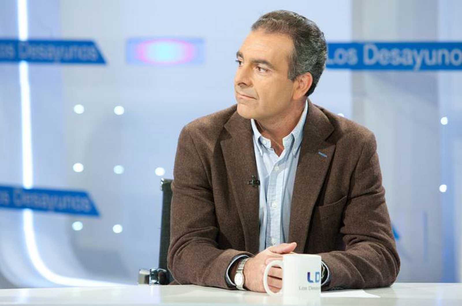 Sebastián Mora en 'Los desayunos'