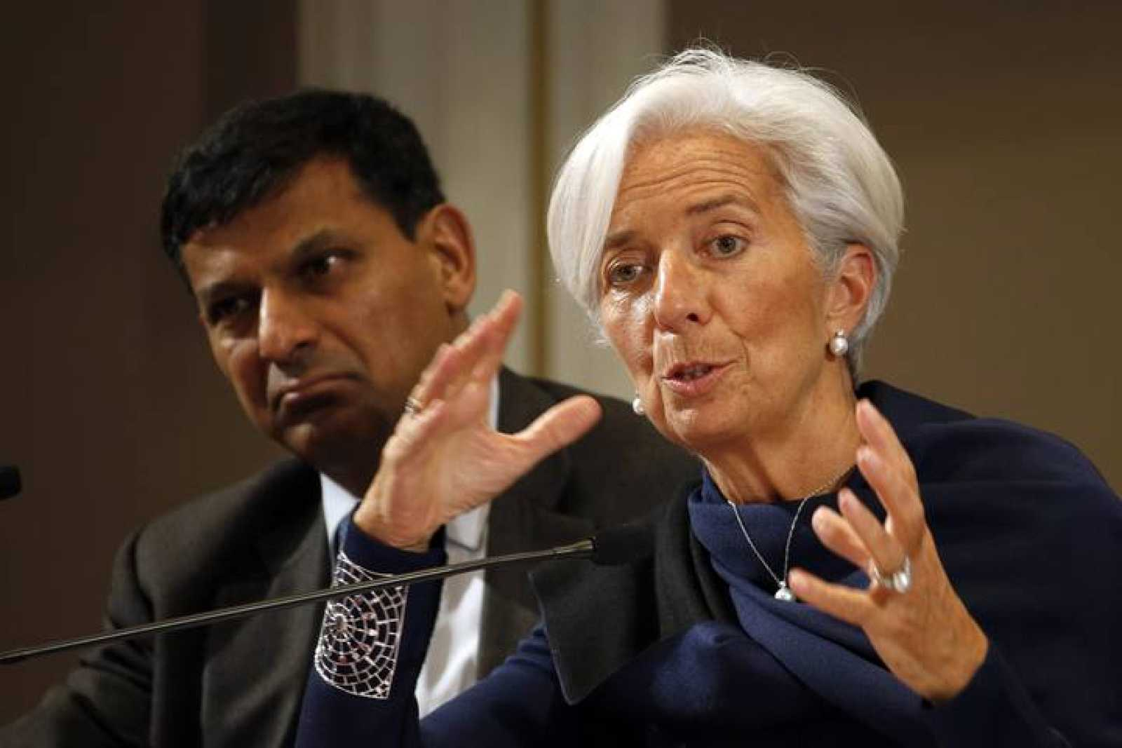 La directora gerente del FMI, Christine Lagarde