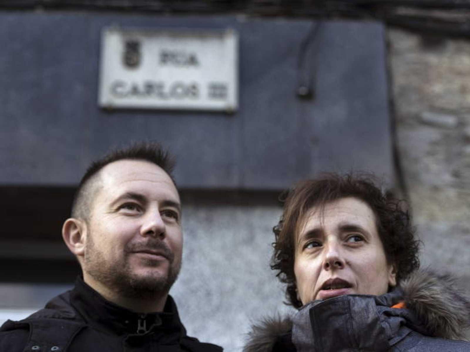 Teresa Romero y su marido, Javier Limón, en una foto de archivo