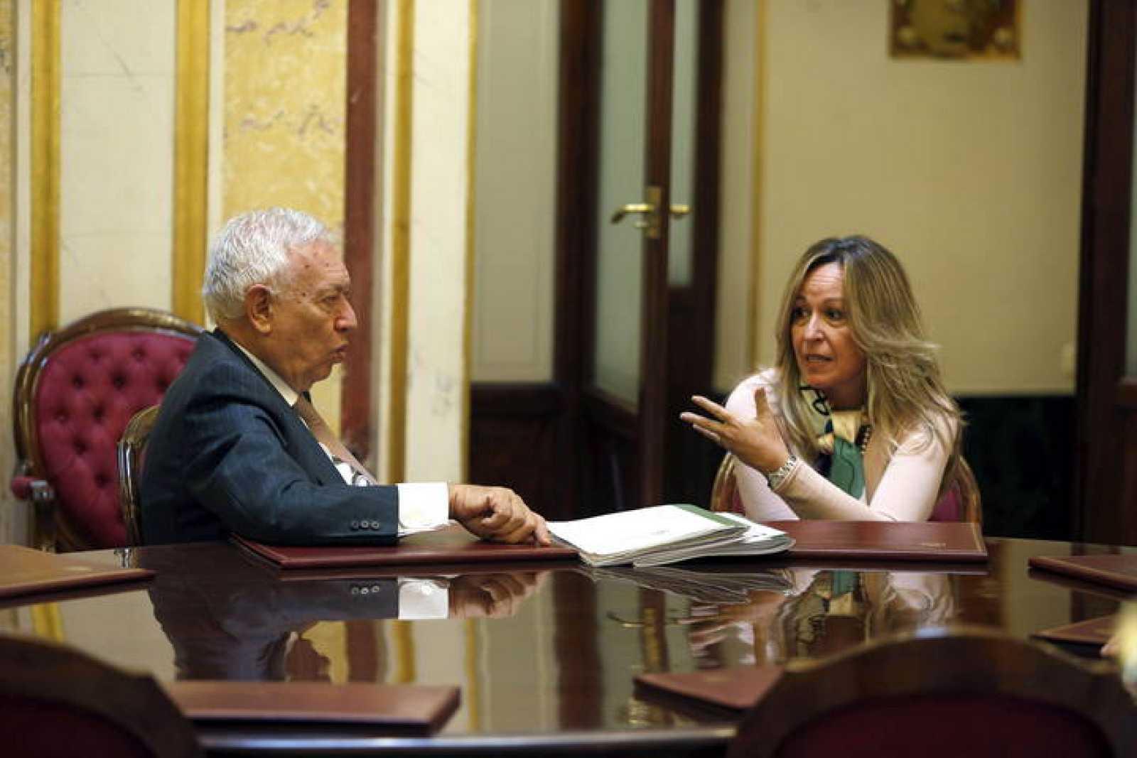 GARCÍA MARGALLO Y TRINIDAD JIMÉNEZ