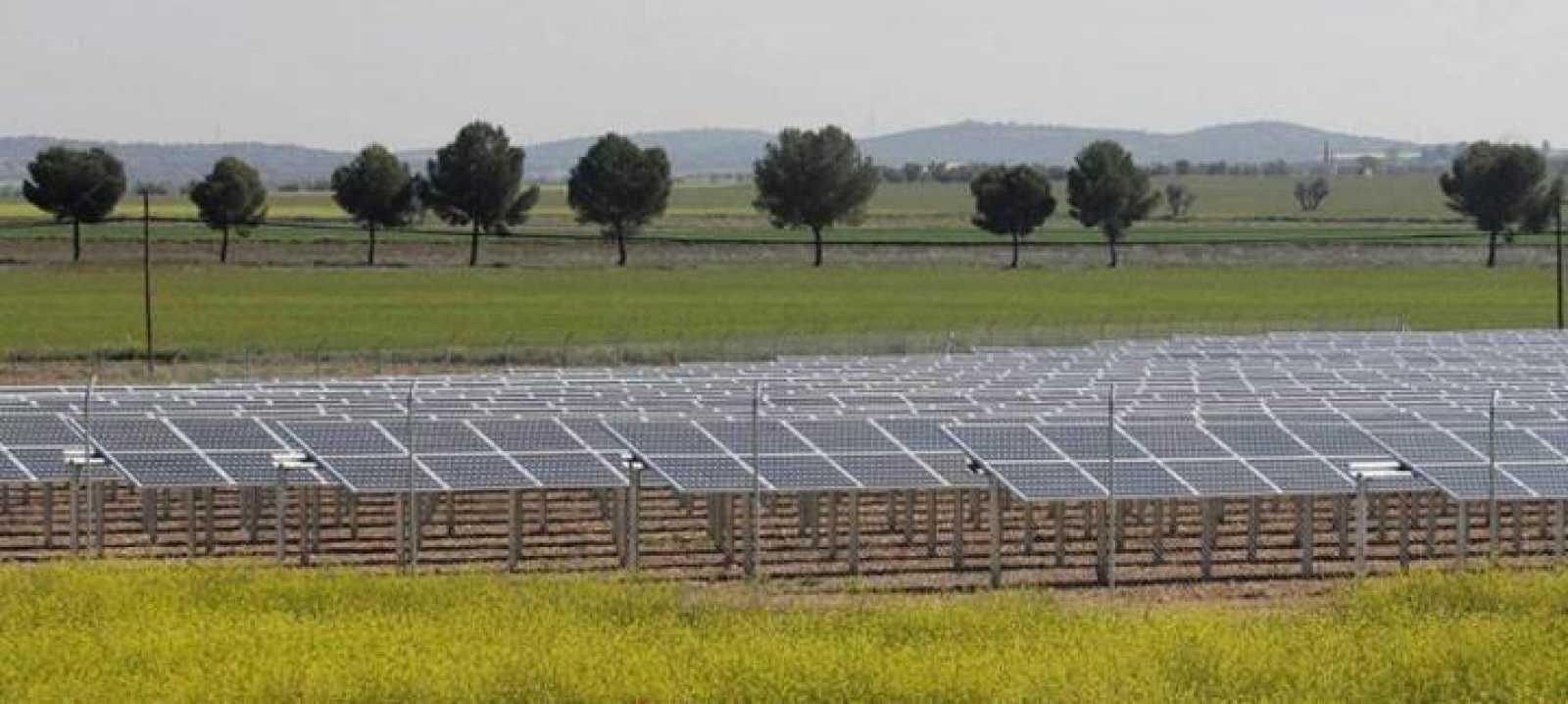 Huerto solar en la provincia de Ciudad Real