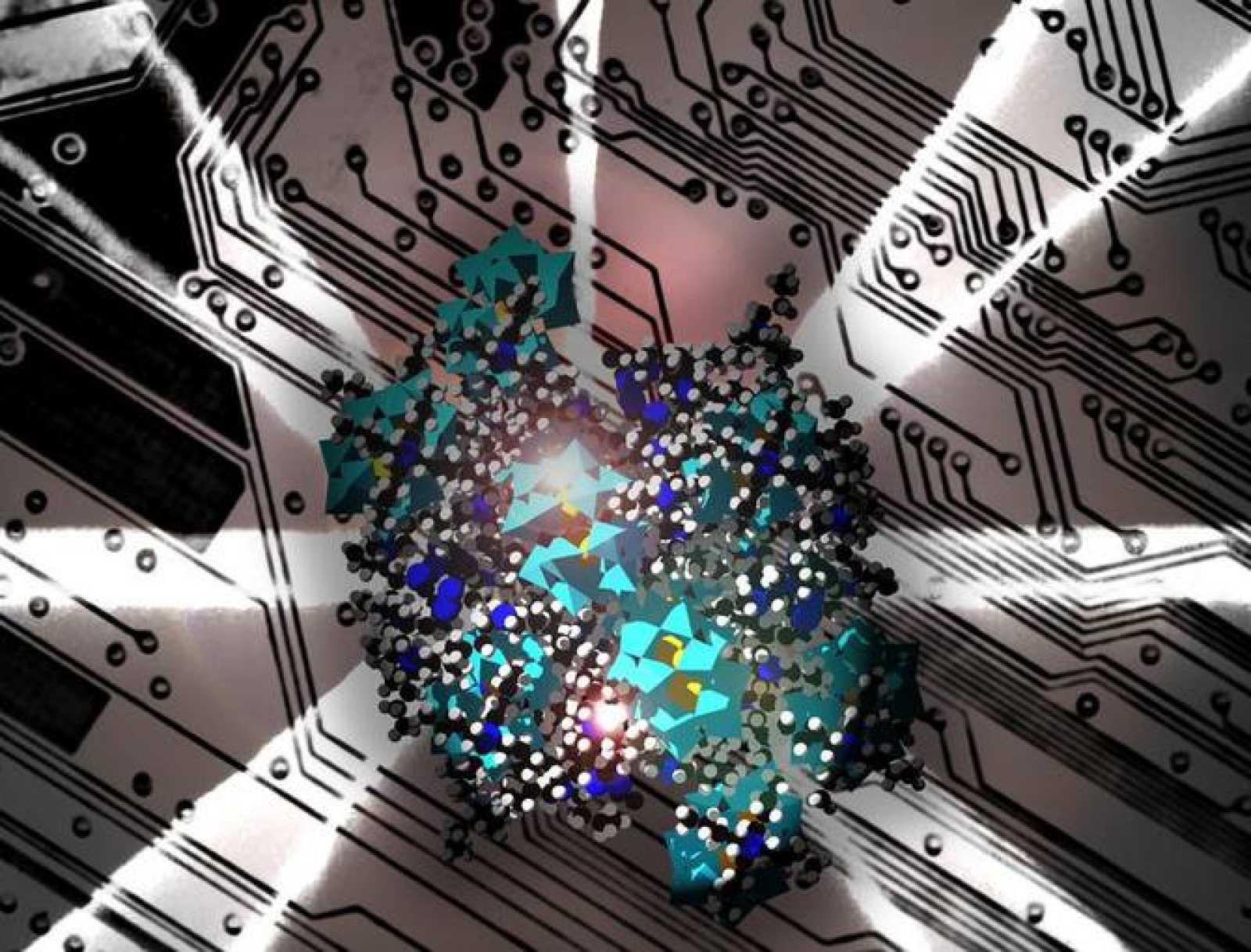 Grupos de polioxometalato a escala nanométrica.