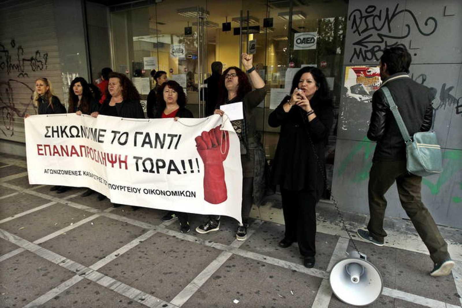 A TASA DE DESEMPLEO EN GRECIA ALCANZÓ EL 25,9 POR CIENTO EN AGOSTO