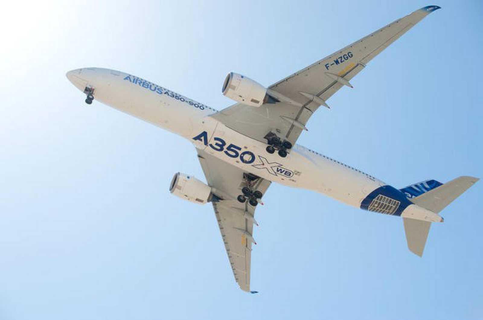 El nuevo Airbus A350.
