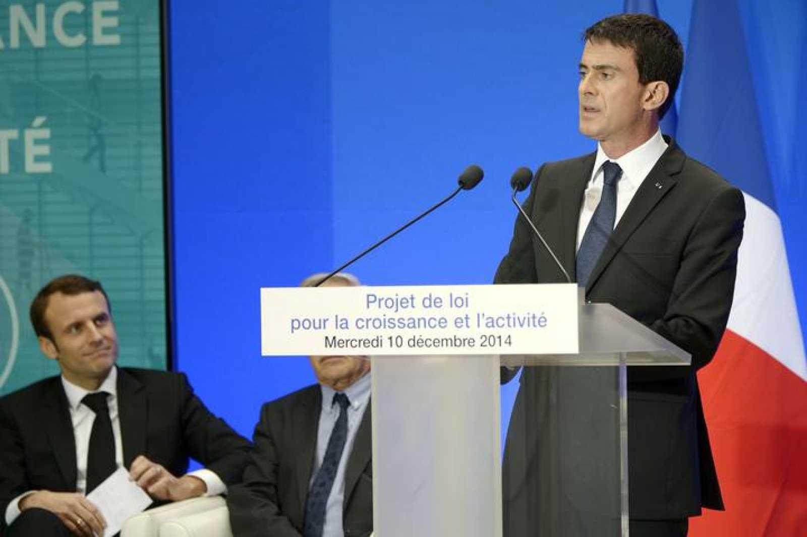 El primer ministro francés presenta el proyecto de ley para el crecimiento
