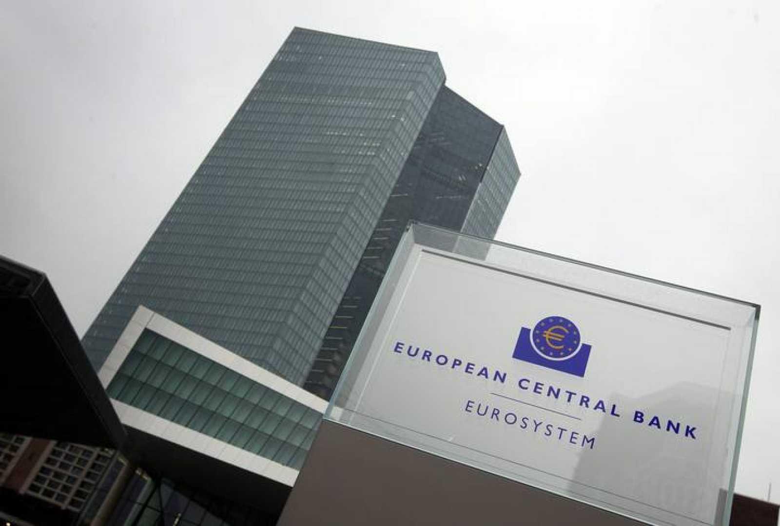 Imagen de la nueva sede del Banco Central Europeo en Fráncfort