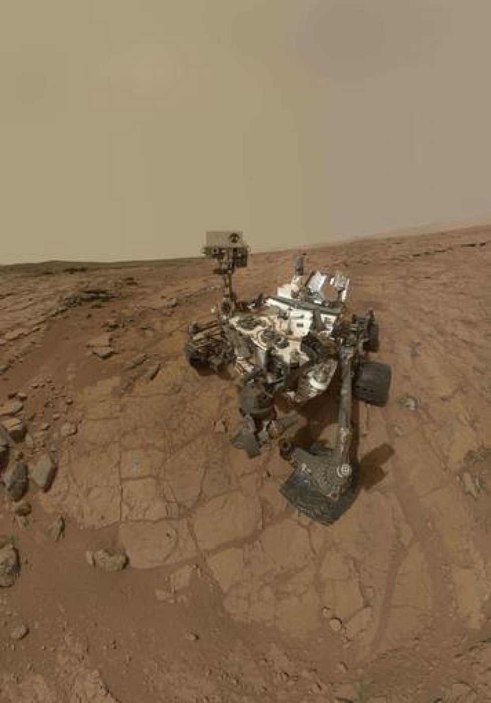 Curiosity encuentra fluctuaciones de gas metano en Marte