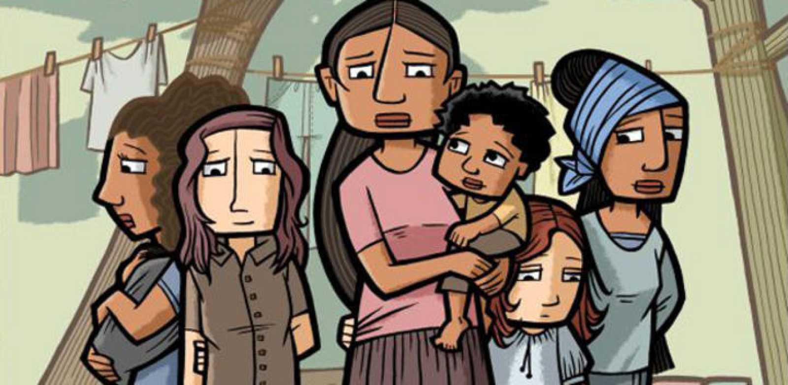 Fragmento de una ilustración de Cristina Durán