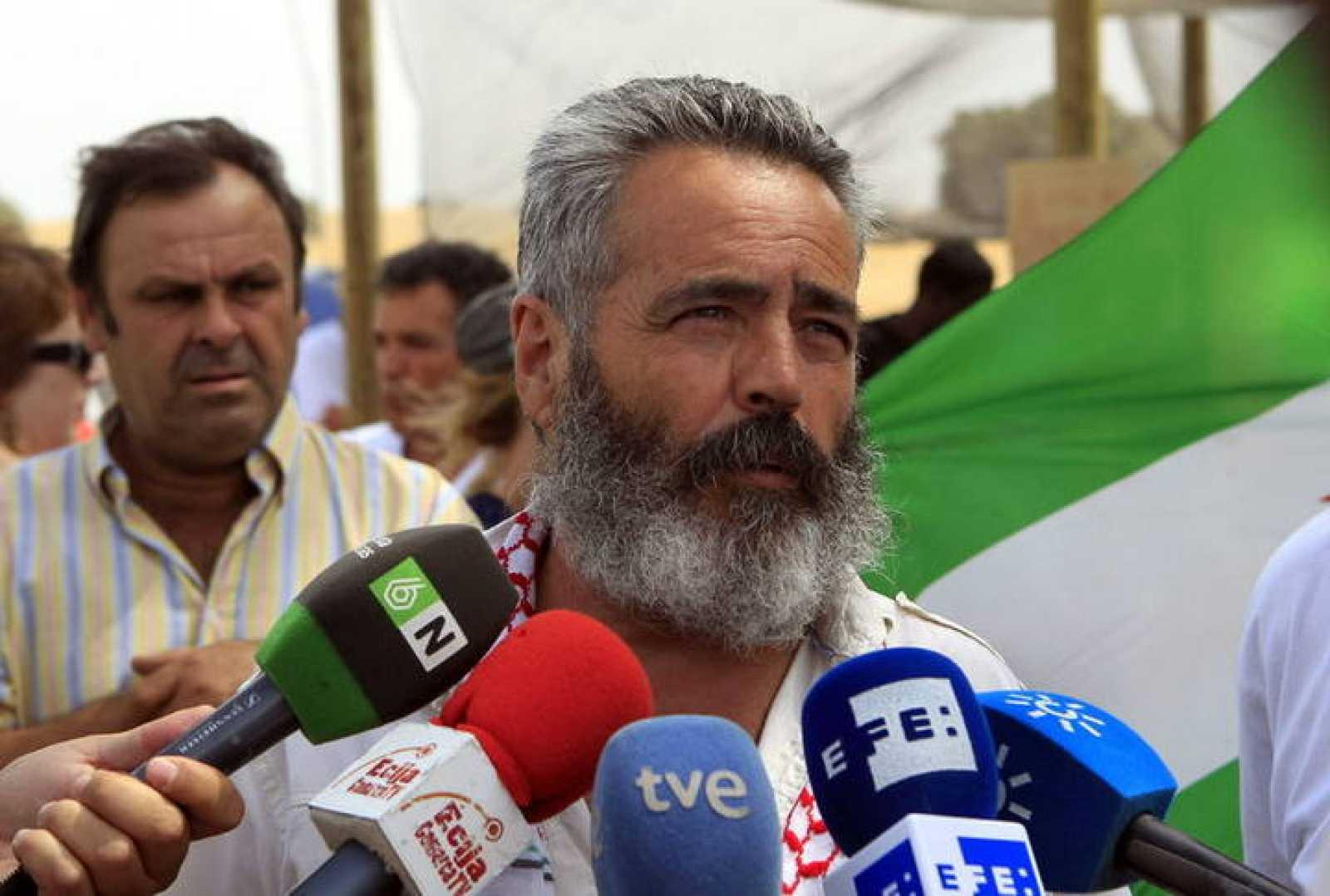 El alcalde de Marinaleda, Juan Manuel Sánchez Gordillo