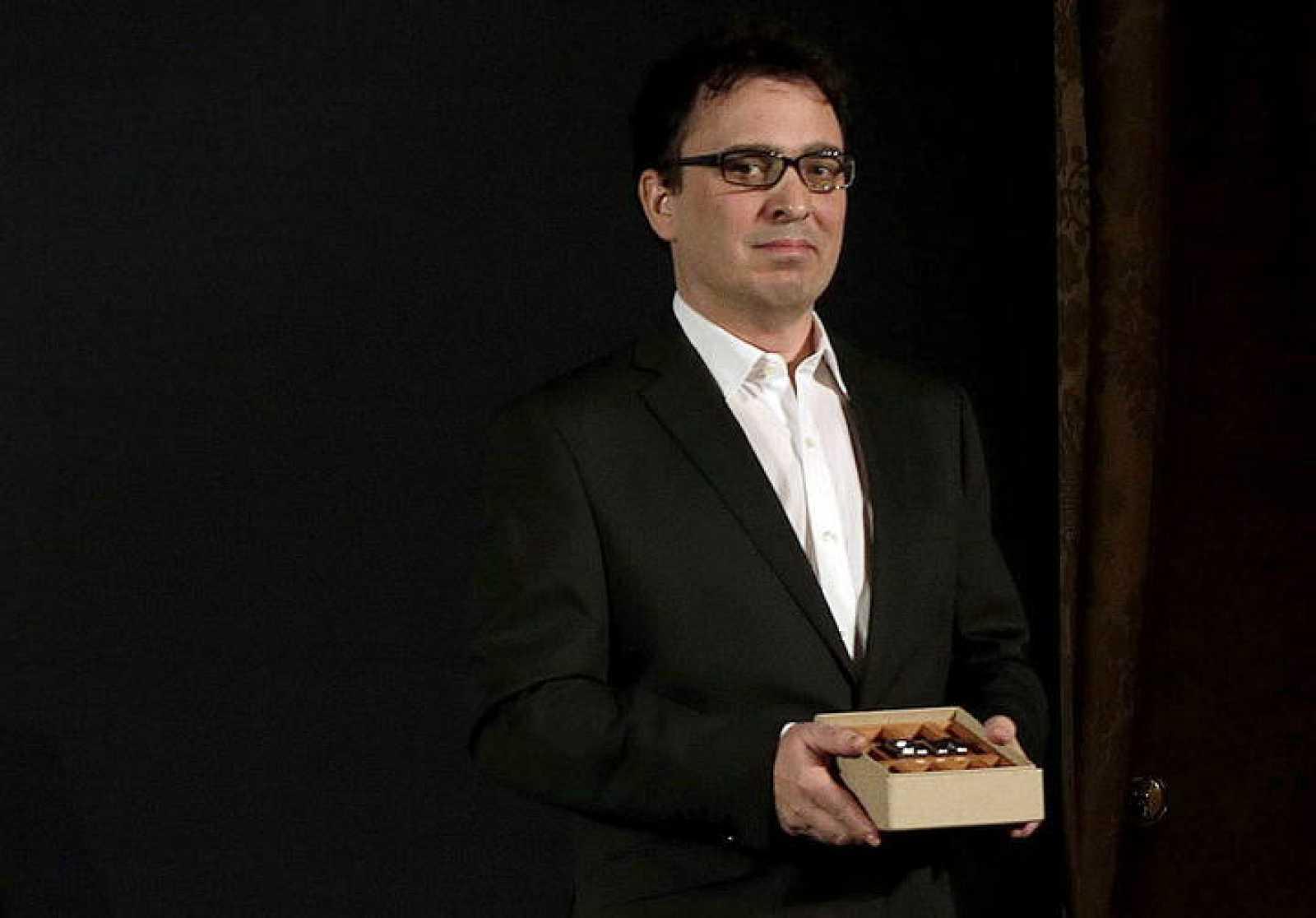 El escritor zamorano José C. Vales, ganador del premio Nadal 2015 con su novela 'Cabaret Biarritz'.