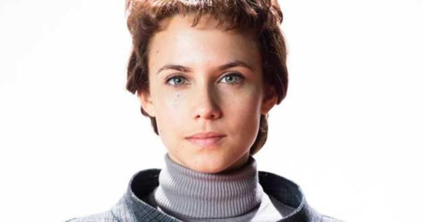 Aura Garrido es Amelia Folch en 'El Ministerio del Tiempo'