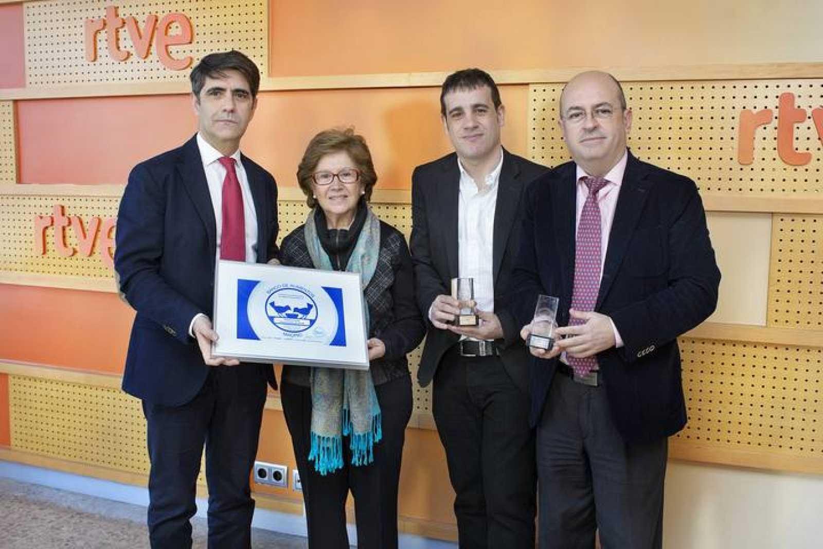 RTVE, reconocida por el Banco de Alimentos de Madrid por su ...