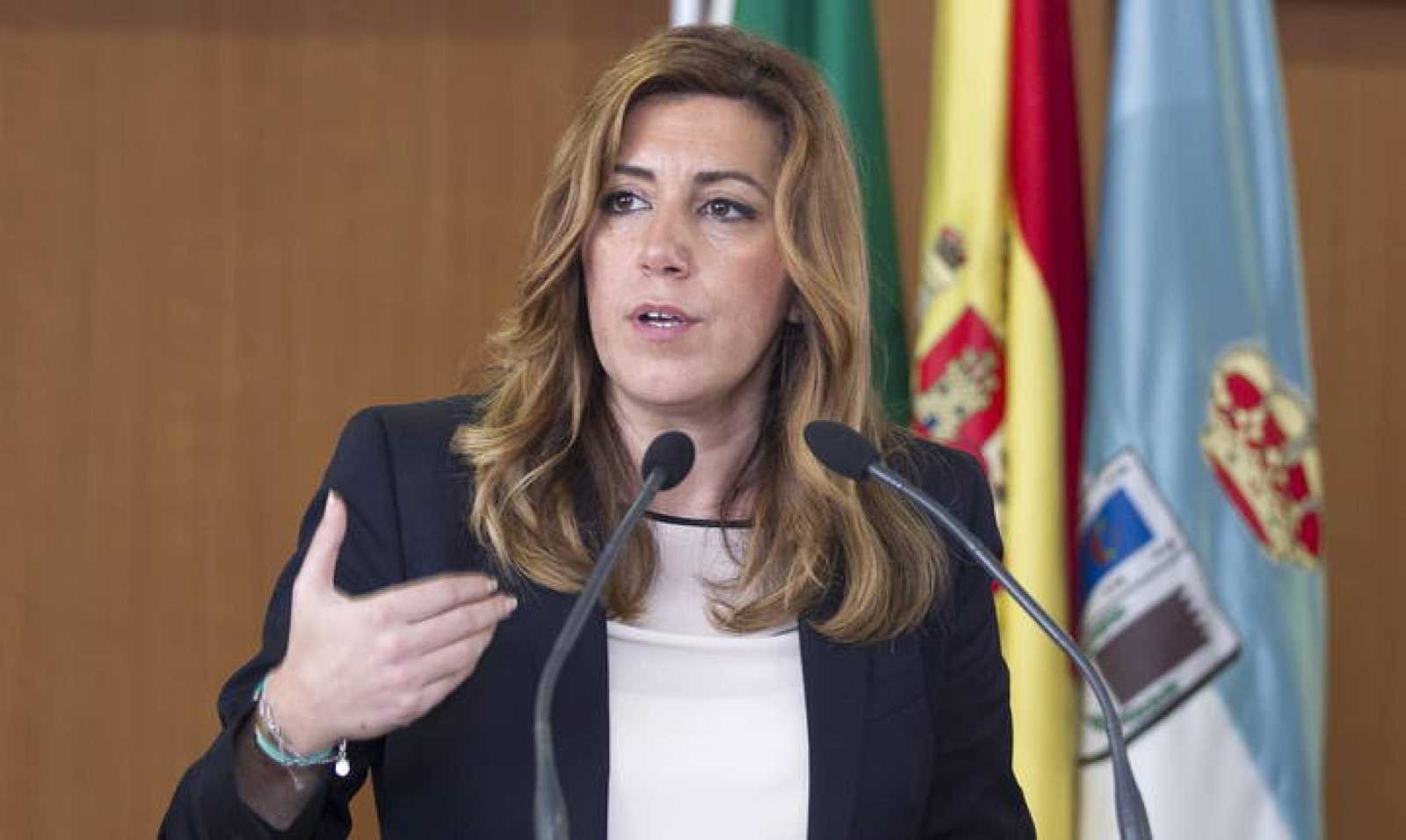 La presidenta de la Junta de Andalucía, Susana Díaz, en una imagen de archivo.